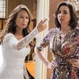 'Haja Coração': Tancinha (Mariana Ximenes) foi humilhada no dia de seu casamento com Apolo (Malvino Salvador)