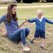 Príncipe George é bagunceiro em casa, conta Kate Middleton: 'É um caos'