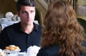 'Joia Rara': após descobrir traição, Franz conversa com Silvia sobre o divórcio