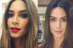 Thaila Ayala muda cor dos cabelos e fica morena para novo filme: 'Renata'