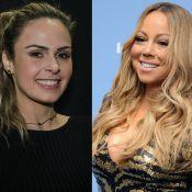 Ana Paula Renaut viaja para Las Vegas a convite de Mariah Carey: 'Diva!'
