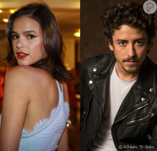 Bruna Marquezine elogia o ator Jesuita Barbosa e o elege como 'boy crush' durante entrevista ao youtuber Matheus Mazzafera
