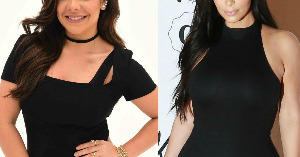 6b951cf642d Fernanda Souza exibe cabelo em bastidores de campanha e brinca   Kim  Kardashian  - Purepeople
