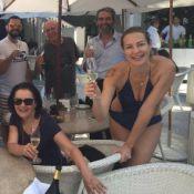 Luana Piovani faz comemoração antecipada por seus 40 anos: 'Grata por ser amada'