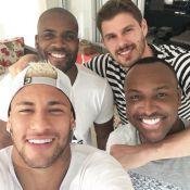 Neymar se reúne com Thiaguinho, Bruninho e Rafael Zulu: 'Irmãos que a vida deu'