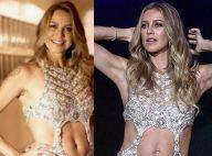 Luana Piovani repete em festa de 40 anos vestido usado ao lançar 'Playboy'