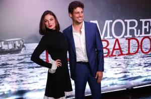 Cauã Reymond se recusa a repetir foto com Isis Valverde após pedido da atriz