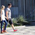 Gabriel Braga Nunes e Isabel Mello vão ter o primeiro filho do casal. A assistente de direção está grávida de poucas semanas
