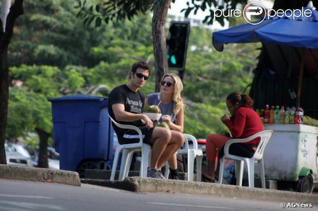 Gabriel Braga Nunes vai ser papai! Isabel Mello, namorada do ator, está grávida de poucas semanas