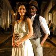 Camila Pitanga e Lázaro Ramos protagonizaram a novela 'Lado a Lado', vencedora do Emmy Internacional