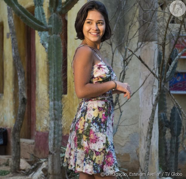 Giullia Buscacio, a personagem Olívia da novela 'Velho Chico', cortou carne vermelha e aves de sua alimentação