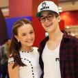 Larissa e João Guilherme estão juntos há quase um ano
