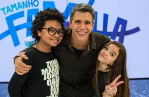 Mel Maia e JP Rufino agitam web em participação no 'Tamanho Família': 'Fofuras'