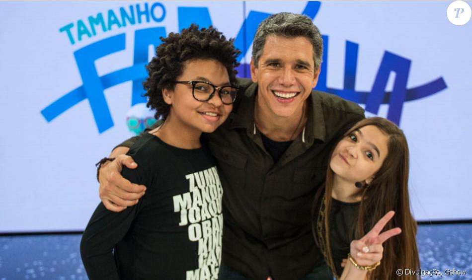 Mel Maia e JP Rufino participaram do 'Tamanho Família' deste domingo, dia 11 de setembro de 2016