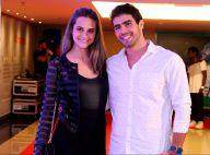 Juliana Paiva festeja 4 meses de namoro com Juliano Laham: 'Cada dia mais feliz'