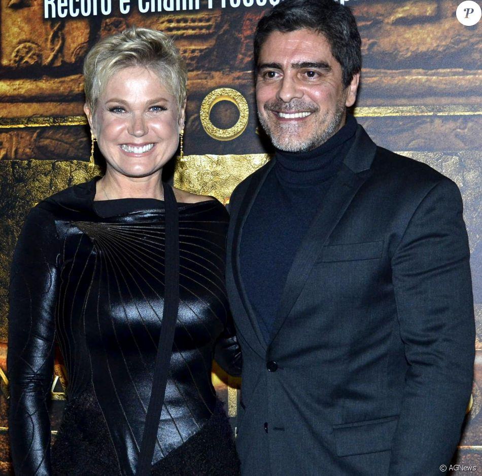 Xuxa se declara para namorado, Junno Andrade, em aniversário: 'Me faz feliz'