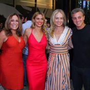 Carolina Dieckmann recebe Angélica, Preta Gil e mais amigos em pré-estreia no RJ