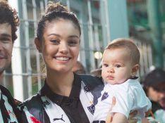 Sophie Charlotte comemora 6 meses do filho com bolo feito por ela: 'Com amor'