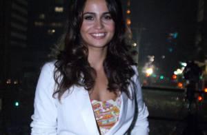 Nanda Costa comanda festa de Réveillon em São Paulo com look comportado