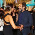Camila Pitanga e Domingos Montagner são muito amigos além de colegas na novela 'Velho Chico'