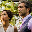 Na novela 'Velho Chico', Domingos Montagner e Camila Pitanga fazem par romântico. Eles vivem os personagens Santo e Tereza respectivamente