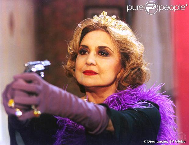 Eva Wilma participou também do elenco de 'A Indomada', em 1997. Sua personagem Altiva consagrou expressões como 'Well!', que repetia a cada frase, 'Oxente, my God!' e 'Tudo all right': 'Foi uma grande chance que o Aguinaldo Silva (autor) me deu. Toda a emissora acreditou na possibilidade de fazer uma vilã com humor'