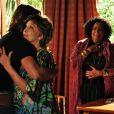 Na novela 'Araguaia', em 2010, Eva viveu Beatriz, dona de um salão de beleza. Na cena, ela abraça o ator Murilo Rosa, cujo personagem era um domador de cavalos