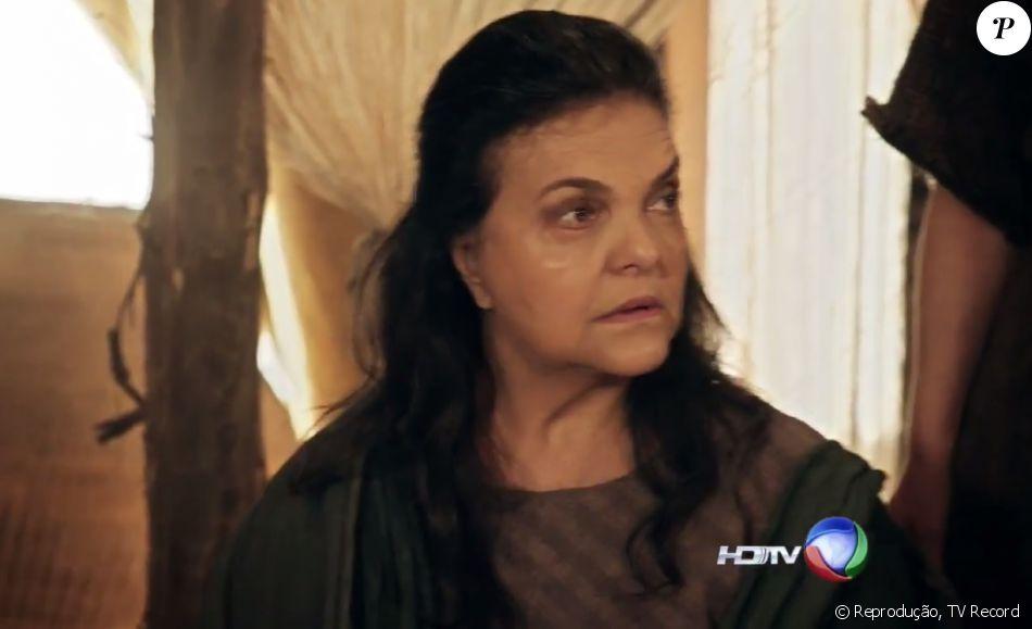 Adara (Yacanã Martins) é condenada a prisão após revelar ser uma cananeia, nos próximos capítulos da novela 'A Terra Prometida'