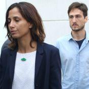 Camila Pitanga vai com Igor Angelkorte ao velório de Domingos Montagner, em SP