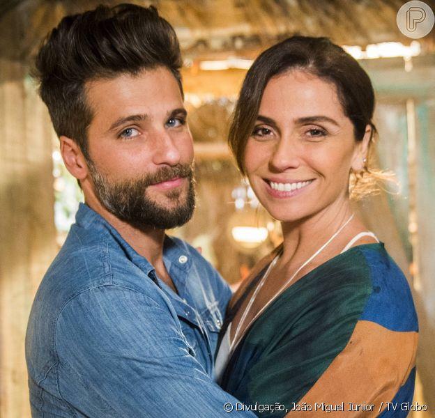 Alice (Giovanna Antonelli) sente ciúmes de Mario (Bruno Gagliasso), na novela 'Sol Nascente', a partir de 27 de setembro de 2016