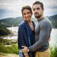 Alice (Giovanna Antonelli) disse a Mario (Bruno Gagliasso) que está apaixonada por Cesar (Rafael Cardoso), na novela 'Sol Nascente', mas nem desconfia de que ele está armando um golpe