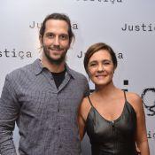 Adriana Esteves se emociona ao falar do marido, Vladimir Brichta: 'Nosso amor'