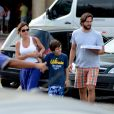 Vladimir Brichta e Adriana Esteves são pais de Vicente