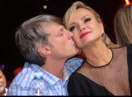 Eliana ganha beijo do namorado, Adriano Ricco, em show de música sertaneja