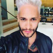 Rainer Cadete platina o cabelo para o 'Dança dos Famosos': 'Alusão ao funk'