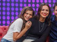 Bruna Marquezine celebra 14 anos da irmã, Luana: 'Almoço de aniversário'. Vídeo!