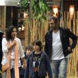 Domingos Montagner era casado há 15 anos com a produtora Luciana Lima e tinham três filhos