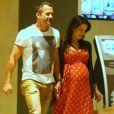 Kyra Gracie está grávida de sua segunda filha com Malvino Salvador