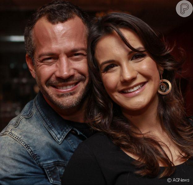 Kyra Gracie e o marido, Malvino Salvador, escolheram o nome da filha caçula: 'Kyara'