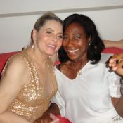 Vera Fischer celebrou 62 anos com festa para 100 pessoas em sua cobertura, no RJ