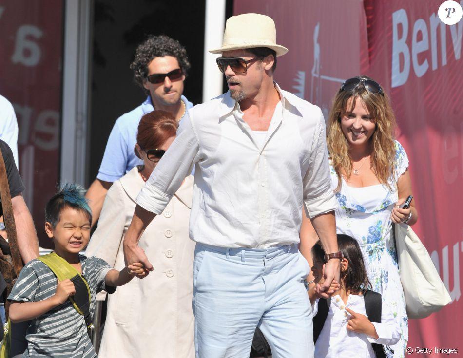 Brad Pitt assumiu nesta quinta-feira, 22 de setembro de 2016, ter perdido o controle e gritado com os filhos, mas se defendeu dos rumores sobre agressão física