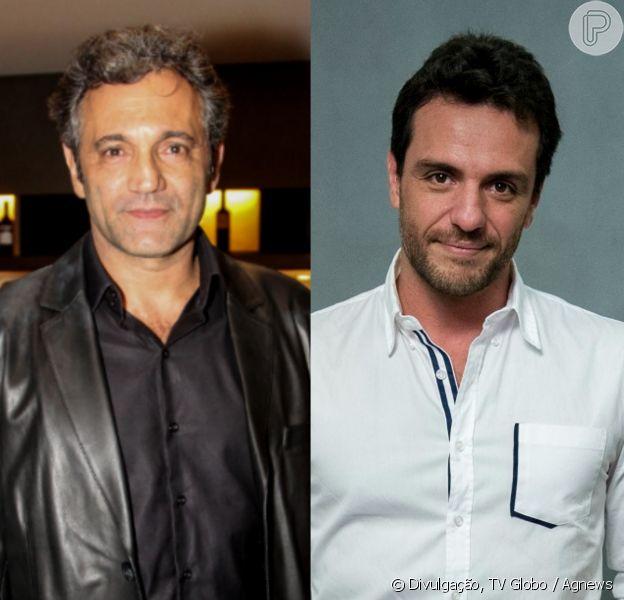 Domingos Montagner será substituído por Rodrigo Lombardi na série 'Carcereiros'. Notícia foi divulgada nesta sexta-feira, 23 de setembro de 2016
