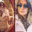 Coincidência? Laryssa Oliveira desfila em Barcelona o mesmo estilo usado por Bruna Marquezine quando encontrou Neymar em Viena