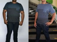 Ex-BBB André Gabeh festeja novo corpo após perder 45 kg: 'Cortei fast food'