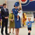 Príncipe George rouba cena no Canadá após bronca da mãe, Kate Middleton, na tarde do último sábado, dia 24 de setembro de 2016