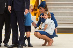 Príncipe George rouba cena no Canadá após bronca da mãe, Kate Middleton. Fotos!