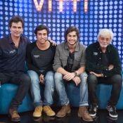 Rafael Vitti participa de 'Tamanho Família' e avô vira queridinho na web: 'Fofo'