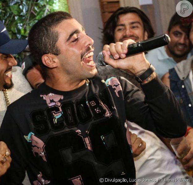 Pedro Scooby curte festa com Nego do Borel, Kayke Brito e mais famosos no Rio de Janeiro