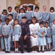 A novela original foi exibida em 1989 no México. A atriz tinha 24 anos na época