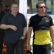 Boninho comemora mudança no corpo após redução de estômago: 'Batendo 81kg'